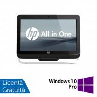 All In One HP Pro 3520, 20 Inch, Intel Core i3-3220 3.30GHz, 4GB DDR3, 120GB SSD, DVD-RW + Windows 10 Pro Calculatoare