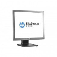 Monitor HP EliteDisplay E190i, LED Backlit, IPS, 19 inch, 1280 x 1024, 5ms, VGA, DisplayPort, USB, 16 milioane culori Monitoare & TV