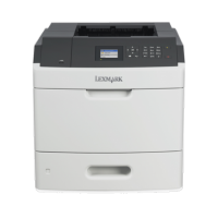 Imprimanta laser monocrom Lexmark MS811DN, USB, 60ppm, 1200 x 1200 dpi, 500 coli