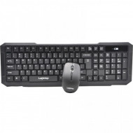 KIT LogiStep LSDK-0011, Tastatura wireless + Mouse wireless, negru Componente & Accesorii