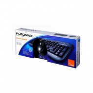 Kit Tastatura + Mouse cu fir, Samsung Pleomax PKC-700B, USB Componente & Accesorii