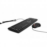 Kit Tastatura + Mouse SPACER SPDS-S6201, Qwerty, USB, 1000 - 2000 dpi, Negru Componente & Accesorii