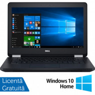 Laptop DELL Latitude E5270, Intel Core i5-6300U 2.40GHz, 8GB DDR4, 240GB SSD, 12.5 Inch + Windows 10 Home Laptopuri