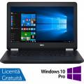 Laptop DELL Latitude E5270, Intel Core i5-6300U 2.40GHz, 8GB DDR4, 240GB SSD, 12.5 Inch + Windows 10 Pro
