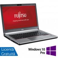 Laptop FUJITSU SIEMENS Lifebook E743, Intel Core i5-3230M 2.60GHz, 8GB DDR3, 120GB SSD, DVD-RW, 14 Inch, Fara Webcam + Windows 10 Pro Laptopuri
