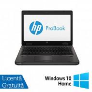 Laptop HP ProBook 6470B, Intel Core i3-3110M 2.40GHz, 4GB DDR3, 320GB SATA, 14 Inch, Fara Webcam + Windows 10 Home Laptopuri
