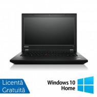 Laptop LENOVO ThinkPad L450, Intel Core i5-4300U 1.90GHz, 4GB DDR3, 120GB SSD, 14 Inch, Webcam + Windows 10 Home Laptopuri