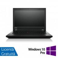 Laptop LENOVO ThinkPad L450, Intel Core i5-4300U 1.90GHz, 4GB DDR3, 120GB SSD, 14 Inch, Webcam + Windows 10 Pro Laptopuri