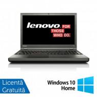 Laptop LENOVO ThinkPad T540p, Intel Core i7-4810MQ 2.80GHz, 8GB DDR3, 240GB SSD, DVD-RW, 15.6 Inch Full HD, Tastatura Numerica, Fara Webcam + Windows 10 Home Laptopuri