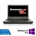 Laptop LENOVO ThinkPad T540p, Intel Core i7-4810MQ 2.80GHz, 8GB DDR3, 240GB SSD, DVD-RW, 15.6 Inch Full HD, Tastatura Numerica, Fara Webcam + Windows 10 Pro