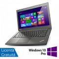 Laptop Refurbished LENOVO ThinkPad T440, Intel Core i5-4300U 1.90GHz, 8GB DDR3, 128GB SSD, 1600x900 + Windows 10 Pro
