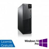 Calculator Lenovo Thinkcentre M83 SFF, Intel Core i3-4130 3.40GHz, 8GB DDR3, 120GB SSD, Placa video Gaming AMD Radeon R7 350 4GB + Windows 10 Pro Calculatoare