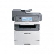 Multifunctionala Laser Monocrom Lexmark x464de, Duplex, A4, 38ppm, 1200 x 1200, Imprimanta, Copiator, Scanner, Fax, USB, Retea, Toner 100% Imprimante