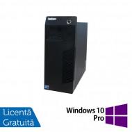 Calculator Lenovo Thinkcentre M72E Tower, Intel Core i3-2100 3.10GHz, 4GB DDR3, 250GB SATA + Windows 10 Pro Calculatoare