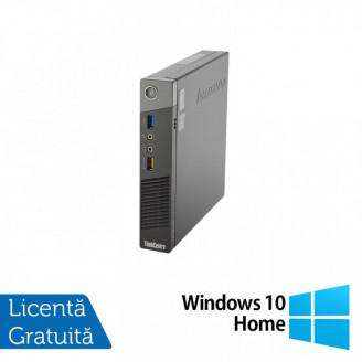 Calculator Lenovo ThinkCentre M93 USDT, Intel Core i5-4570T 2.90GHz, 4GB DDR3, 500GB SATA + Windows 10 Home Calculatoare
