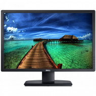 Monitor DELL U2412M, LED, Panel IPS, 24 inch, 1920 x 1200 WUXGA, VGA, DVI, 5 Porturi USB, Widescreen Monitoare & TV