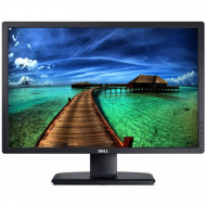 Monitor DELL U2412M, LED, Panel IPS, 24 inch, 1920 x 1200 WUXGA, VGA, DVI, 5 Porturi USB, Widescreen, Grad A- Monitoare & TV