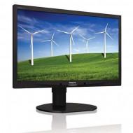 Monitor Philips Brilliance 220B4L, 22 Inch, 1680 x 1050, VGA, DVI, Audio, USB, Fara picior Monitoare & TV