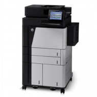 Multifunctionala HP LaserJet Enterprise Flow M830, 56 PPM,1200 x 1200 DPI, USB, A3, A4, Duplex, Cartus Nou Imprimante
