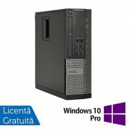 Calculator Dell OptiPlex 9010 SFF, Intel Core i3-3220 3.30GHz, 4GB DDR3, 250GB SATA, DVD-ROM + Windows 10 Pro Calculatoare