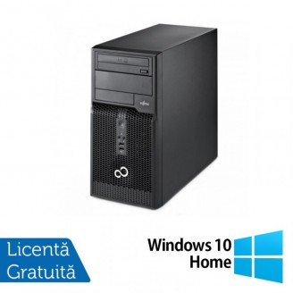Calculator FUJITSU SIEMENS P400 Tower, Intel Core i3-2120 3.3 GHz, 4 GB DDR 3, 500GB SATA, DVD-ROM + Windows 10 Home Calculatoare