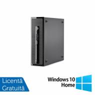 Calculator HP 400 G1 Desktop, Intel Pentium G3250 3.20GHz, 4GB DDR3, 500GB SATA + Windows 10 Home Calculatoare