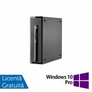 Calculator HP 400 G1 Desktop, Intel Pentium G3250 3.20GHz, 4GB DDR3, 500GB SATA + Windows 10 Pro Calculatoare