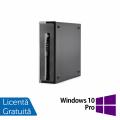 Calculator HP 400 G1 SFF, Intel Core i7-4770 3.40GHz, 8GB DDR3, 120GB SSD, DVD-RW + Windows 10 Pro