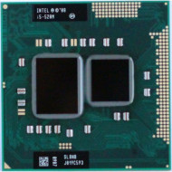 Procesor Laptop Intel Core i5-520M 2.40GHz, 3MB Cache, Socket PGA988, BGA1288 Laptopuri