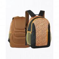 Rucsac Herlitz Animal Print Leopard, 2 compartimente Laptopuri