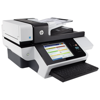 Scaner Second Hand HP Digital Sender Flow 8500 fn1 Document Capture Workstation Imprimante