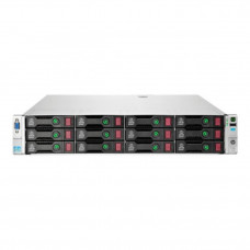 Server Refurbished HP ProLiant DL380e G8, 2U, 2x Intel Octa Core Xeon E5-2450L 1.8 GHz-2.3GHz, 16GB DDR3 ECC Reg, 2 x 450GB SAS/10K/2,5 on 3,5 adapter, Raid Controller HP SmartArray P420/1GB, iLO 4 Advanced, 2x Surse Hot Swap 750W Servere & Retelistic