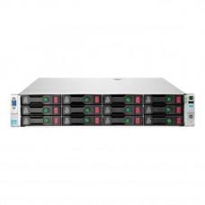 Server Refurbished HP ProLiant DL380e G8, 2U, 2x Intel Octa Core Xeon E5-2450L 1.8 GHz-2.3GHz, 16GB DDR3 ECC Reg, 4 x 450GB SAS/10K/2,5 on 3,5 adapter, Raid Controller HP SmartArray P420/1GB, iLO 4 Advanced, 2x Surse Hot Swap 750W Servere & Retelistic