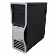 Statie grafica Refurbished Dell Precision T7500 Tower, 1x Intel Xeon X5667 Quad Core 3.06GHz - 3.46GHz, 24GB DDR3, HDD 1TB SATA, DVD-RW, Placa Video Nvidia Quadro 4000/2GB GDDR5/256 bit Calculatoare