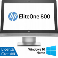 All In One HP EliteOne 800 G2, 23 Inch Full HD, Intel Core i5-6500 3.20GHz, 16GB DDR4, 240GB SSD, DVD-RW, Webcam + Windows 10 Home Calculatoare