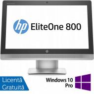 All In One HP EliteOne 800 G2, 23 Inch Full HD, Intel Core i5-6500 3.20GHz, 16GB DDR4, 240GB SSD, DVD-RW, Webcam + Windows 10 Pro Calculatoare