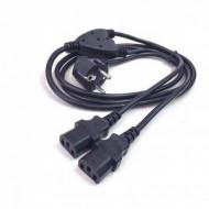 Cablu alimentare 220V, PC + Monitor 2 in 1 Calculatoare