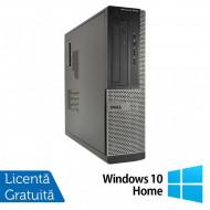 Calculator DELL OptiPlex 3010 Desktop, Intel Pentium G870 3.10GHz, 4GB DDR3, 250GB SATA, DVD-RW + Windows 10 Home Calculatoare