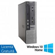Calculator Dell 9010 USFF, Intel Core i5-3470S 2.90GHz, 4GB DDR3, 500GB SATA, DVD-RW + Windows 10 Home Calculatoare
