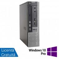 Calculator Dell 9010 USFF, Intel Core i5-3470S 2.90GHz, 4GB DDR3, 500GB SATA, DVD-RW + Windows 10 Pro Calculatoare