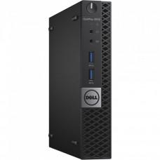 Calculator DELL Optiplex 3040 MiniPC, Intel Core i3-6100T 3.20GHz, 4GB DDR3, 500GB SATA Calculatoare