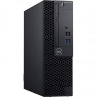 Calculator DELL OptiPlex 3060 SFF, Intel Gen 8 Quad Core i3-8100 3.60GHz, 8GB DDR4, 120GB SSD, DVD-RW Calculatoare