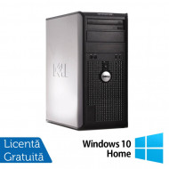 Calculator Dell OptiPlex 380 Tower, Intel Pentium Dual Core E5500 2.80GHz, 2GB DDR3, 250GB SATA, DVD-RW + Windows 10 Home Calculatoare