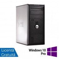 Calculator Dell OptiPlex 380 Tower, Intel Pentium Dual Core E5500 2.80GHz, 2GB DDR3, 250GB SATA, DVD-RW + Windows 10 Pro Calculatoare