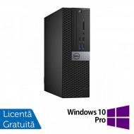 Calculator DELL OptiPlex 7040 Desktop, Intel Core i7-6700 3.40GHz, 16GB DDR4, 512GB SSD, DVD-ROM + Windows 10 Pro Calculatoare