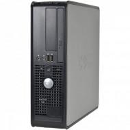 Calculator DELL Optiplex 745 Desktop, Intel Core 2 Duo E6300 1.86GHz, 2GB DDR2, 80GB SATA, DVD-ROM Calculatoare