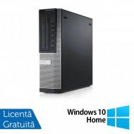 Calculator DELL Optiplex 9010 Desktop, Intel Core i7-3770 3.40GHz, 4GB DDR3, 500GB SATA, DVD-ROM + Windows 10 Home Calculatoare