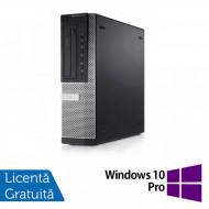 Calculator DELL Optiplex 9010 Desktop, Intel Core i7-3770 3.40GHz, 4GB DDR3, 500GB SATA, DVD-ROM + Windows 10 Pro Calculatoare