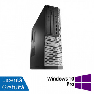 Calculator Dell OptiPlex 990 Desktop, Intel i5-2400 3.10GHz, 4GB DDR3, 500GB SATA, DVD-ROM + Windows 10 Pro