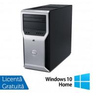 Calculator Dell Precision T1600, Intel Core i3-2100 3.10GHz, 4GB DDR3, 320GB SATA, DVD-ROM + Windows 10 Home Calculatoare